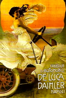 woman in vintage car. by Mario Borgoni 1869-1936/US PD/artist life/rerprod of PD art/Commons.wikimedia.org)