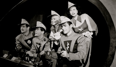 1953. Space Patrol cast. Moser Productions Press packet/US PD pub.date/Commons.wikimedia.org)
