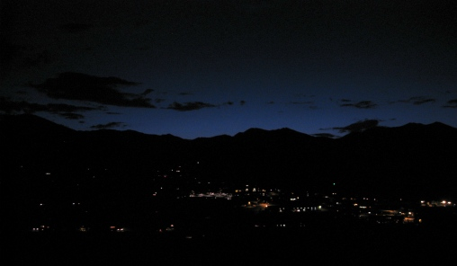 Colorado night sky.all rights reserved. No permissions granted. copyrighted
