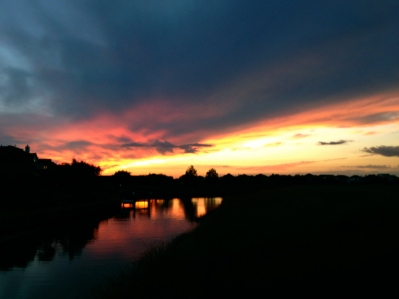 fading sunset.all rights reserved. Copy righted. No permissions granted.