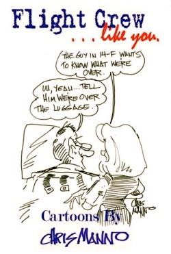 Chris Mano's Book of air travel cartoons