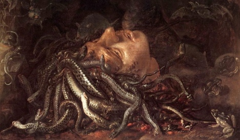 Medusa. 16th century unknown Flemish painter:We Gallery of Art/US PD: artist life+100 yrs/Commons.wikimedia.org