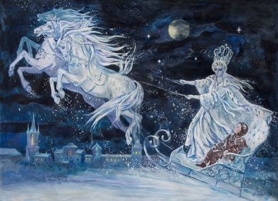 Snow Queen.HC Andersen.Elena Ringo,ill./Commons.wikimedia.org)
