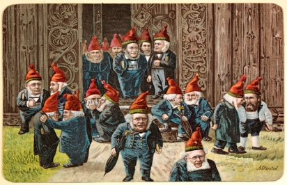 Elves.1895 postcard.Kunster/Eier/Nat.Lib.of Norway/Commons.wikimedia.org