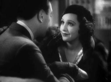 couple.1933 movie trailer for 42nd Street. George Brent and Bebe Daniels/USPD:pub.date/no cr/Commons.wikimedia.org