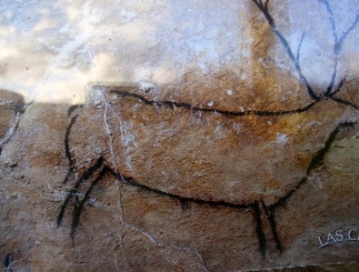 Prehistoric cave painting. Cierva de La Cueva del Pendo/Codigowiki/Commons.wikimedia.org