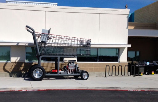 Giant HEB shopping basket art car. No permissions granted All rights reserved.