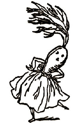 Dancing carrot. Frelich (1820-1908)/USPD:pub.date/Commons.wikimedia.org