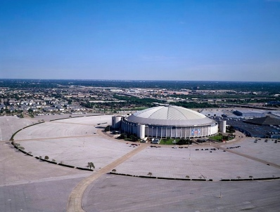 1999 Aerial view of Astrodome/LoC/Highsmith:USPD:WIKI