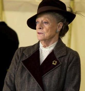"Dowager Countess""Downton Abbey""season 4/Masterpiece/PBS/screenshot)"