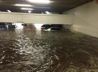 flooded garage. Houston. abc.13.com