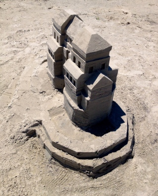 No permissions granted for this sand castle image. ALL rights reserved. Copyrighted