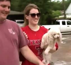 TInkerbell sees her mom. click2houston.com screenshot