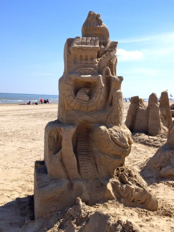 sandcastle tower.ALL rights reserved, copyrighted