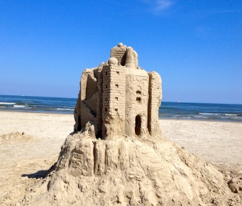 melting sand castle. (NO permissions granted, all rights reserved. Copyrighted)