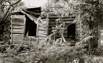 1841.Jefferson Walling log cabin, Henderson, Rusk County, TX ./LoC/USPD.by fed employee/Commons.wikimedai.org)