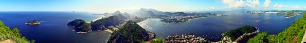 Rio de Janeiro panoramic view from Mt/Wolfhardt/Commons.wikimedia.org)