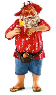 Tropical Santa (Screenshot Christmas Treasures.com)