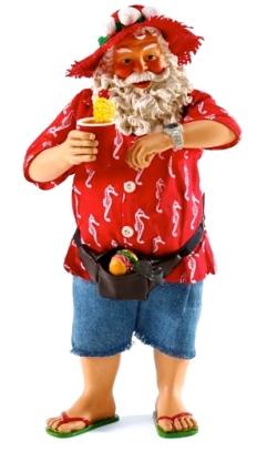 Summer Santa. (Screenshot Christmas Treasures.com)