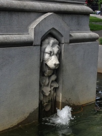 ALL rights reserved for this lion /Ether Monument, Boston. NO permissions granted. Copyrighted