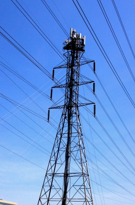 Power lines and tower. ALL rights reserved. Copyrighted. NO permissions granted