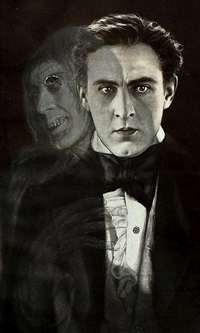 1920. Dr Jekyll and Mr Hyde. Barrymore.Motion Picture News/Famouse Player-Lasky Corp. Paramount.Art-craft/USPD. pub.date/Commons.wikimedia.org)