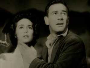 Frightened man and woman. (1953. It came from outer space. Universal Pictures/USPD: Pub.date, no CR notice on trailer/Commons.wikimedia.org)