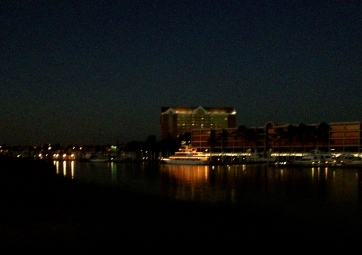 ALL rights reserved to night scene of party boat. NO permissions granted. Copyrighted