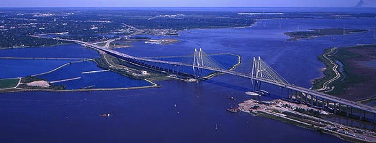 From a distance: Hartman Bridge across the Houston Ship Channel ( houstontx.gov)