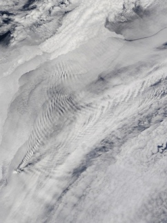 Cloudy melodies (NASA.Cloud patterns over Prince Edward Island. USPD.gov.agency/wwwnasa.gov/multimedia:/magegallery)