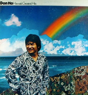 Don Ho on album cover. Hawaii's Greatest Hits. (Kevin Dooley/Flickr/Commons.wikimedia.org)