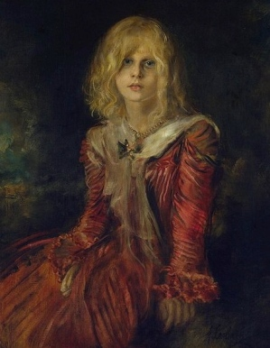 A young girl finely dressed. Marion Lenbach.1901.Franz vonLenbach 1836-1904/USPD.reprod of PD art:artist life/Commons.wikimedia.org)