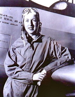 Cornelia Fort. WASP instructor by Pearl Harbor.1941/US AIr Force/USPD/Commons.wikimedia.org)