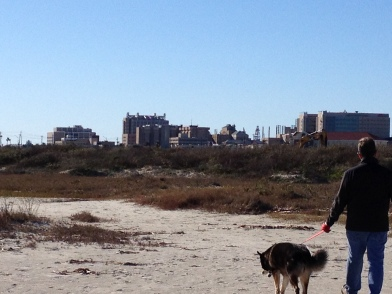 Beach walk. UTMB Galveston Medical Center. ALL rights reserved. NO permissions granted. Copyrighted