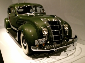 Green Art Deco sedan with chrome accents and grille. ALL rights reserved. NO permissions granted. Copyrighted