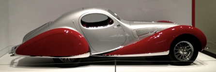 Car. Art Deco era. Talbot-Lago T150C-SS Teardrop Coupe. ALL rights reserved. Copyrighted. NO permissions granted.