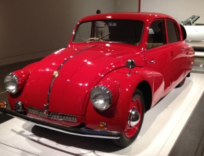 1938 Art Deco vehicle. Red Tanta T97. ALL rights reserved. NO permissions granted. Copyrighted