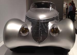 """Silver At Deco """"Zenia"""". HMFA exhibit."""