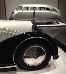 MFAH Sculpted in Steel exhibit of Art Deco cars. ALL rights reserved. Copyrighted. NO permissions granted