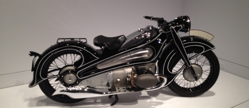 BMW R7 Concept Motorcycle at MFAH Art Deco exhibit. ALL rights reserved. Copyrighted. NO permissions granted for this image