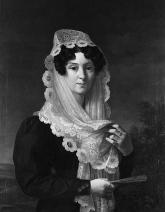 1829-1832.Vincente Lopez y Portana.Dona Gertrudis de Compte ye de Bruga/USPD. artist life/Commons.wikimedia.org)
