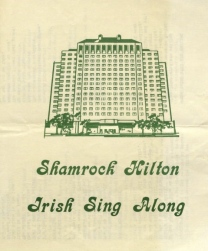 Program from Shamrock's Irish Sing Along. (USPD/UH digital library/Commons.wikimedia.org)