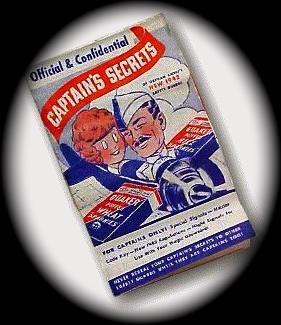 A 1941 paper Ovaltine decoder. (Olsen/radioarchives.com)
