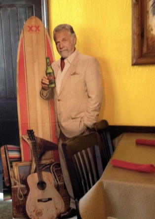Most interesting man in the world...ALL rights reserved. Copyrighted. NO permissions granted