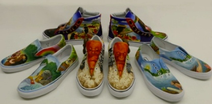 Shoe group by island design (Entires by Moanalua High. Honolulu, HI (vanscustomcultrue.votenow.tv/)