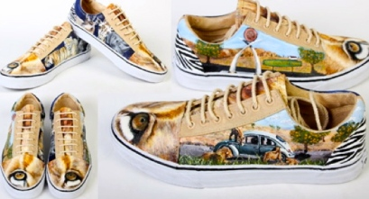 shoes with VW, going outdoors, and campingUniversity. (Local Flavor entry by HS. Irvine, CA. vanscustomculture.votenow.tv)