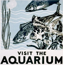 fish. 1937 travel poster by WPA/USPD/LoC/Commons.wikimedia.org)