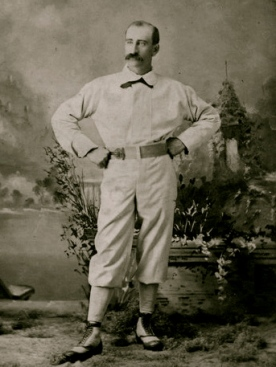 1878. Baseball player. Chicago White Sox.Robert Ferguson. Only player that became president of the league. NY pub.lib (USPD: pub.date/Commons.wikimedia.org)