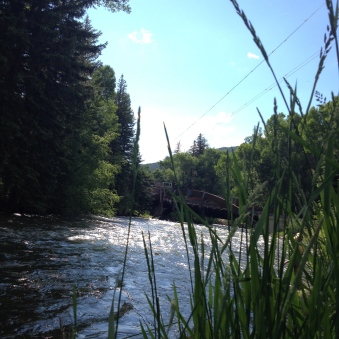 Beautiful fast flowing river fly fishing spot near Aspen. ALL rights reerved. Copyrighted. NO permissions granted