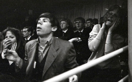 Teenagers in Rolling Stone concert. 1964. Nat. Archives of Norway: Flickr (USPD.pub.date/Commons.wikimedia.org)